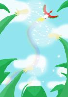 a ho-oh in the sky by May-Lene