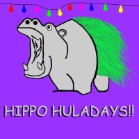Hippo Huladays by stevecliff