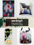 Free Shipping + $5 Off Each Item on Society6! by TheQueenSerena