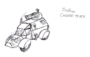 NoR: Scathen Cannon Truck by IrateResearchers