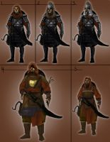 Mongolian Assassin Concept by DINO-SAWR