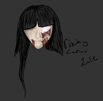 Kinda blody girl thingy cx by Acryeel
