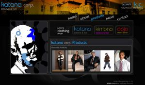 KatanaCorp Site Design : part2 by VirtueDesign