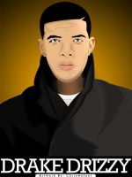Drake Drizzy Vector by slkscrn