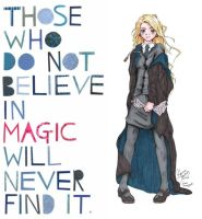 Those who do not believe in magic... by SlytherinsHeart
