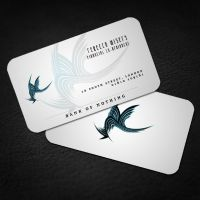 Bank of Nothing: Business Card by altarindustries