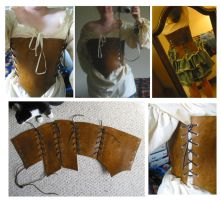 Leather Corset by Demara