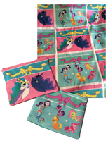 Pony Zipper Pouches by Sophillia
