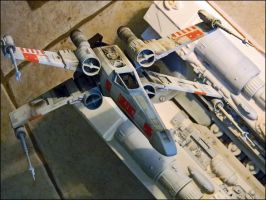 X-Wing 1:48 AMT Model Kit by Hikaru84