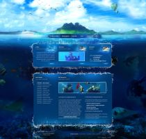Diving website v1 by wilhelm1989
