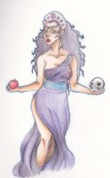 Persephone by seannethecloud