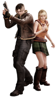 Leon/Ashley RE4 - Professional Render by Allan-Valentine
