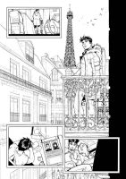 SPIDEY DOES PARIS by deemonproductions