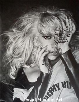 Lady GaGa by Drawing-Dude-Dave