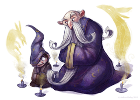 Wizards by adailey