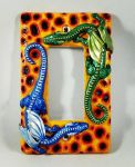 Dragons Light Switch Cover commission by GabriellesBabrielles