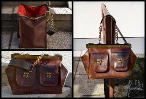 Leander - leather bag by Seatear