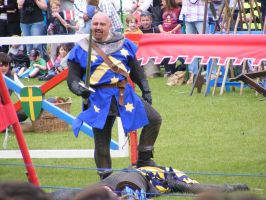 Jousting - Knight 31 by Axy-stock