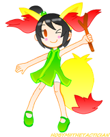 CHIBI LILY AS BRAIXEN by HOBYMIITHETACTICIAN