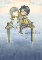 You, Me And the Sea by Hannakin