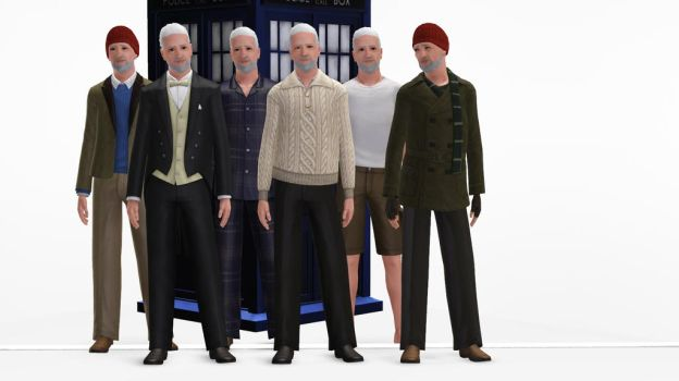 The Sims 3 - Doctor Who - Wilfred Mott by exangel42
