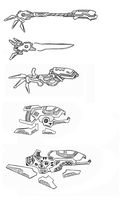 Alien Weapons by Zip101