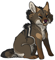 little 'yote by coyotesoot