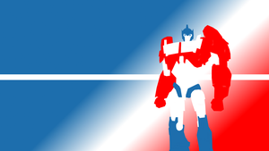 Optimus Prime wallpaper by just-add-lasers