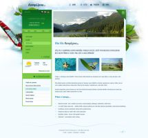 Kemp Lipno website by luqa