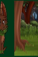 The Evergreen Portal Fox. *Auction!* by KittenthePsycho