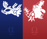 Pokemon Alpha Sapphire Omega Ruby Vector by firedragonmatty