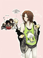 The Gazette - Everyone wants Uruha xD by KaZe-pOn