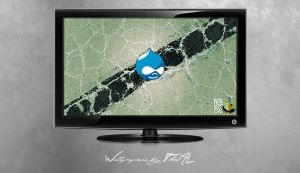 Drupal Core Wallpaper by TheAL