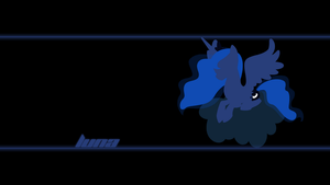 Luna Wallpaper by Alexstrazse