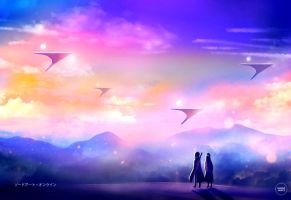 sao: distant reality. by sugarmints