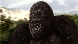 Painting King Kong by Ineer