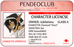 Character License - DEZZI by Pendeomod