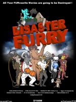Disaster Furry by wolfjedisamuel
