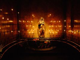 Shrine of the Virgin Mary by laura-worldwide