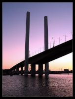 bolte bridge - sunset by syncore
