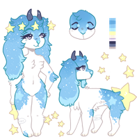 CLOSED l Celestial Guardian Set priced adopt by Sno-berry