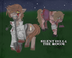 silent hill 4 ponies by Archychan06