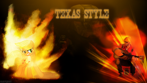 Texas Style [Wallpaper] ('cause I can) by colorfulBrony