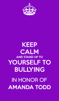 Keep calm and Stand up to yourself to bullying by ETSChannel