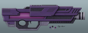Scifi Heavy Energy Cannon by BurgerForLunsh