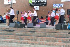 Puerto Rican/Latin Festival, Teen Couple Boogie by Miss-Tbones