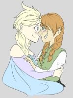 Elsanna thingy by kyanchan