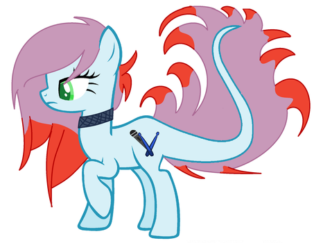 my 3rd oc Pred Band by bellablossomyoutube