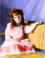 Grand Duchess Anastasia 1910 by Sonja-from-Finland