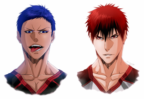 Rivalry | KNB by DivineImmortality